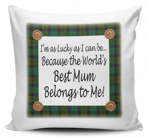 Worlds Best Mum Belongs To Me Cushion Cover